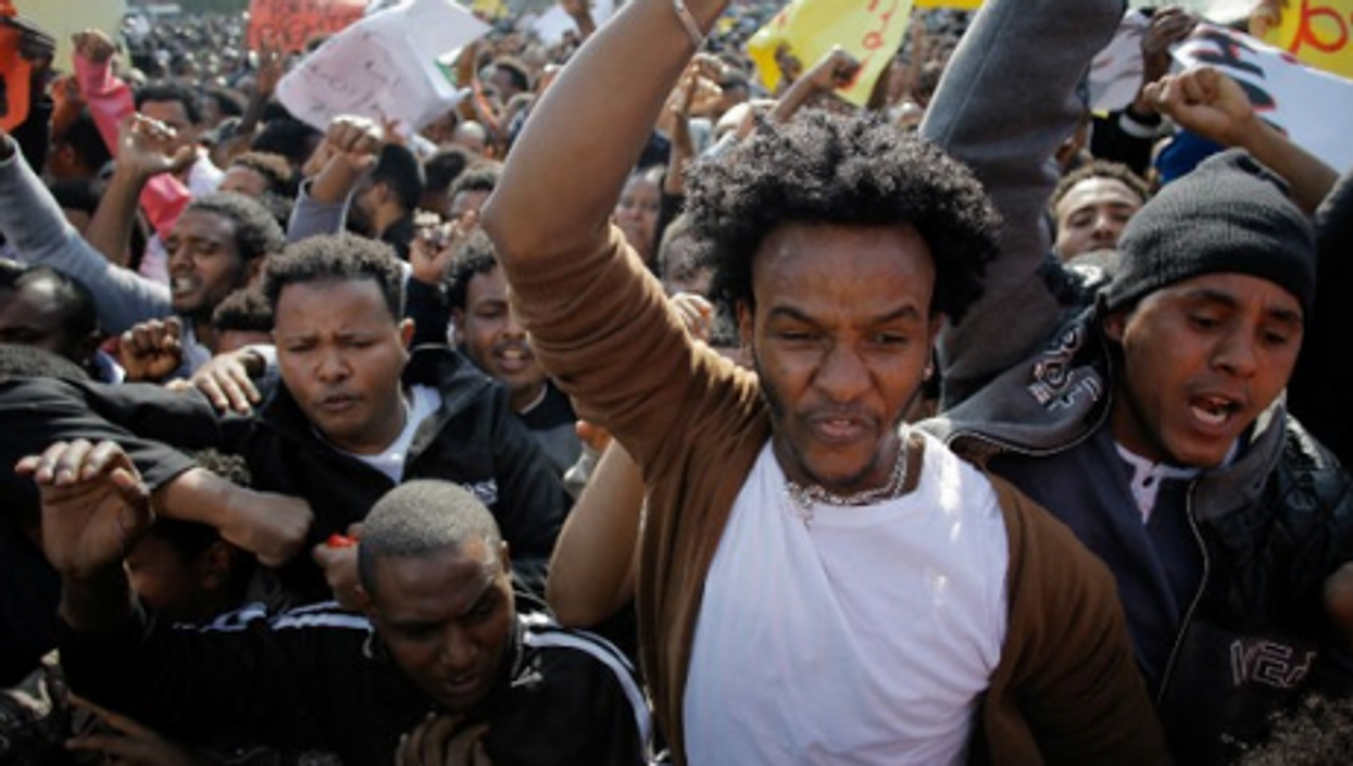 Snapshot: Deep Freeze, Africans In Israel, More