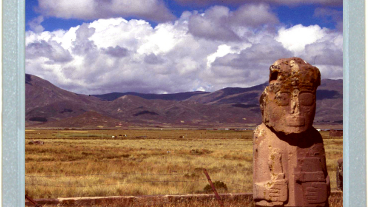 Bolivia's Mysterious Monolithic Monk
