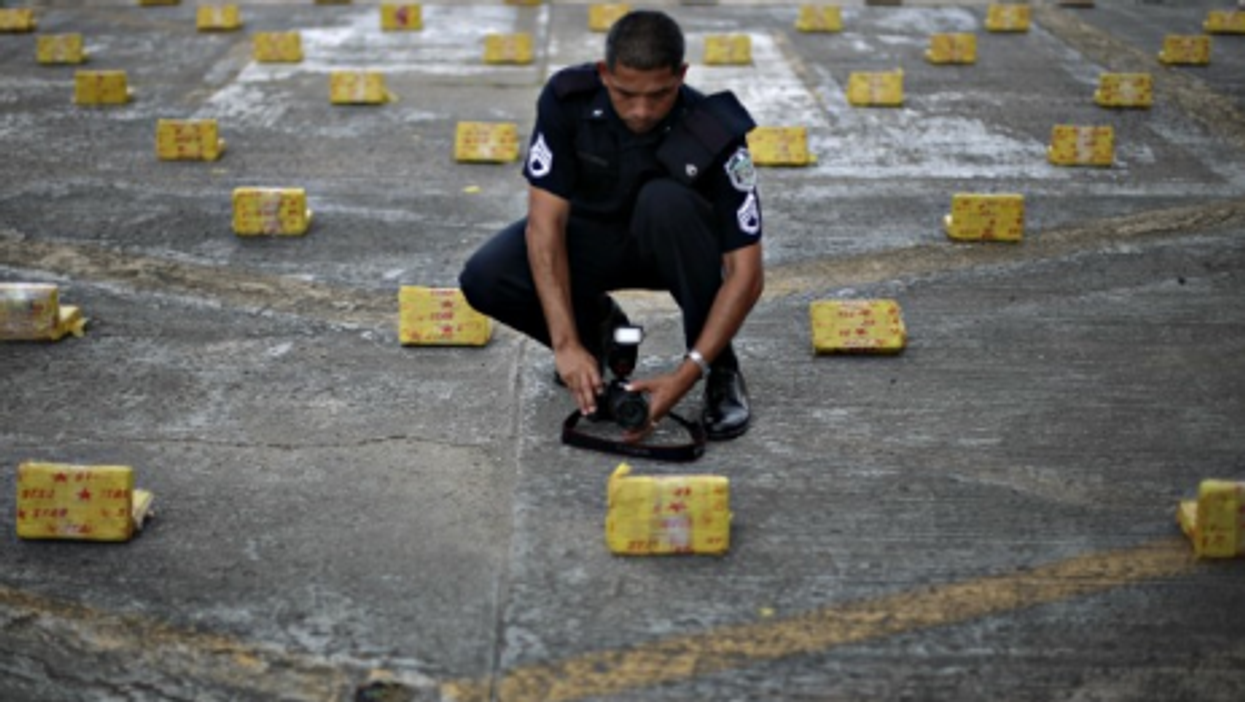 Snapshots: Cocaine In Panama City, Outrage In America, Sheep In Paris