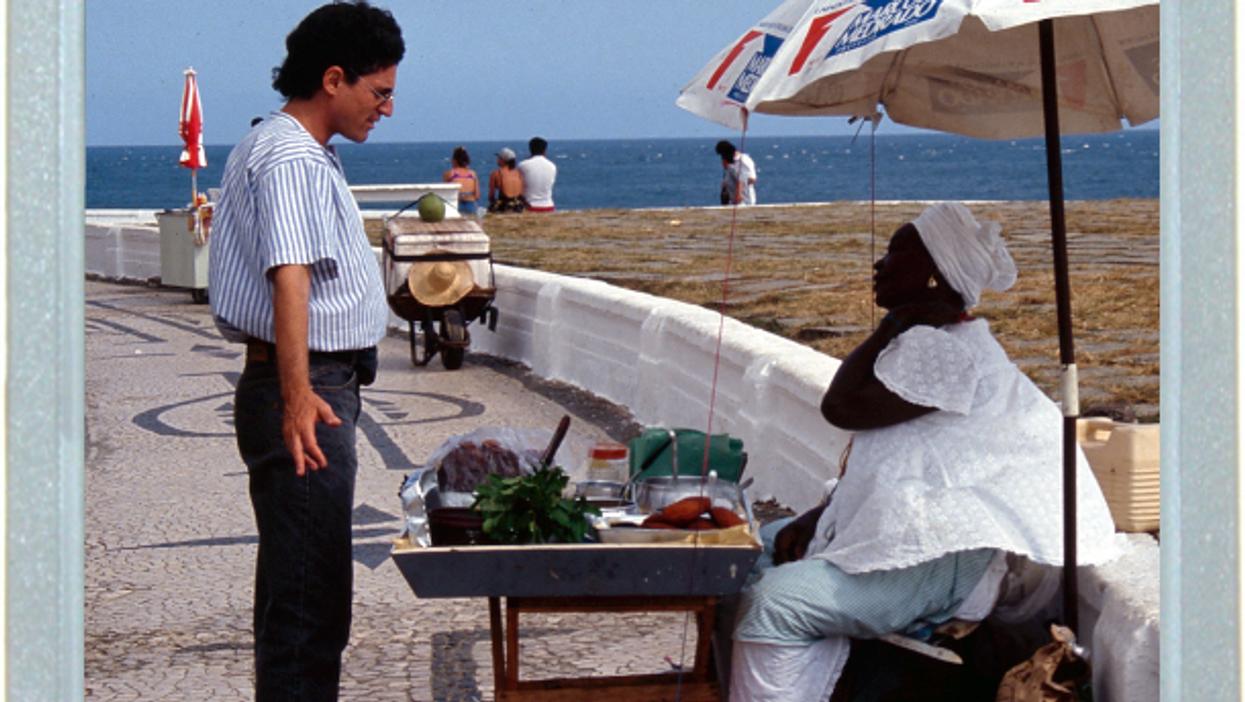 Street Food Bargain In Brazil