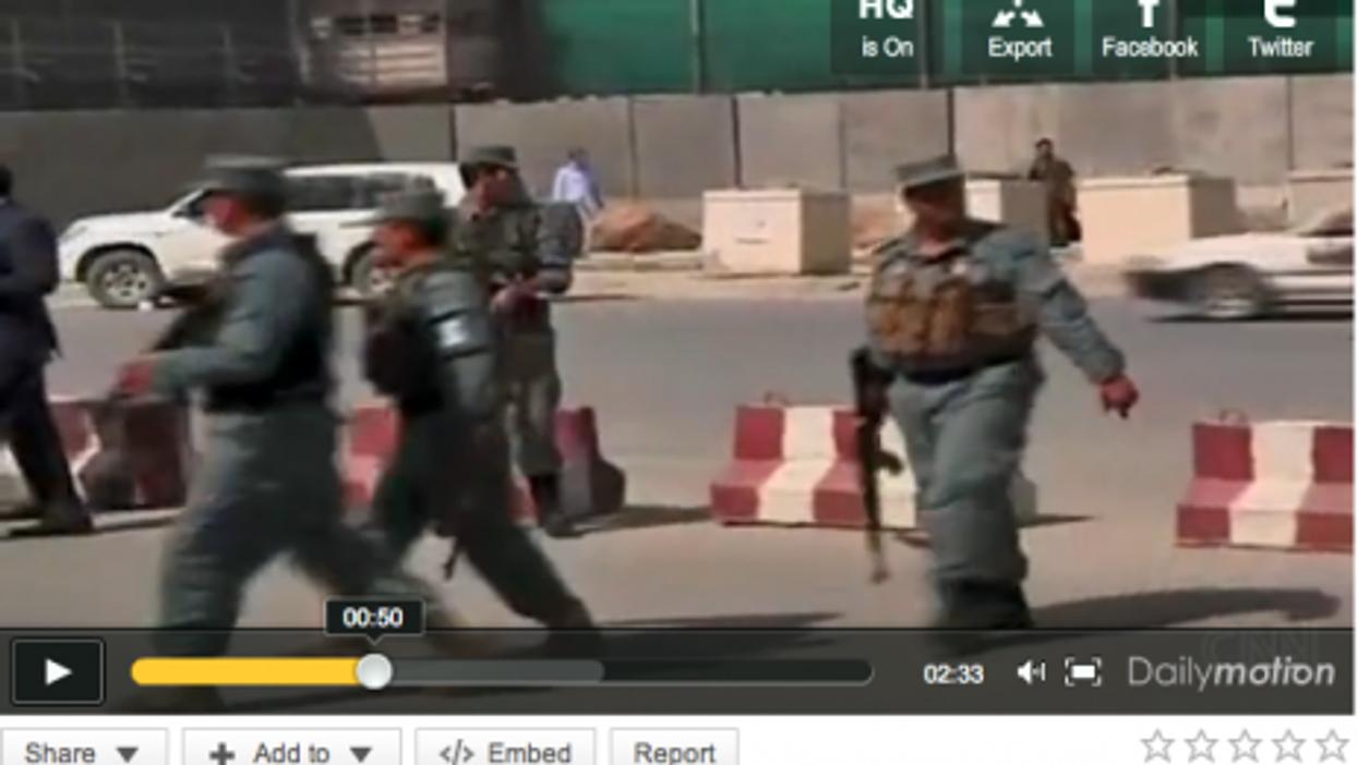 U.S. Embassy Under Siege In Kabul
