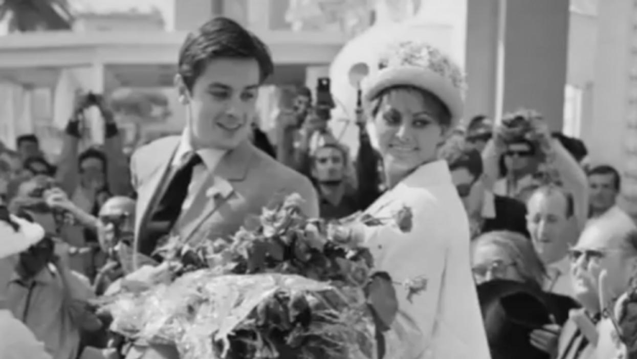 Watch: Oneshot—Cannes Film Festival: Sophia Loren And Alain Delon