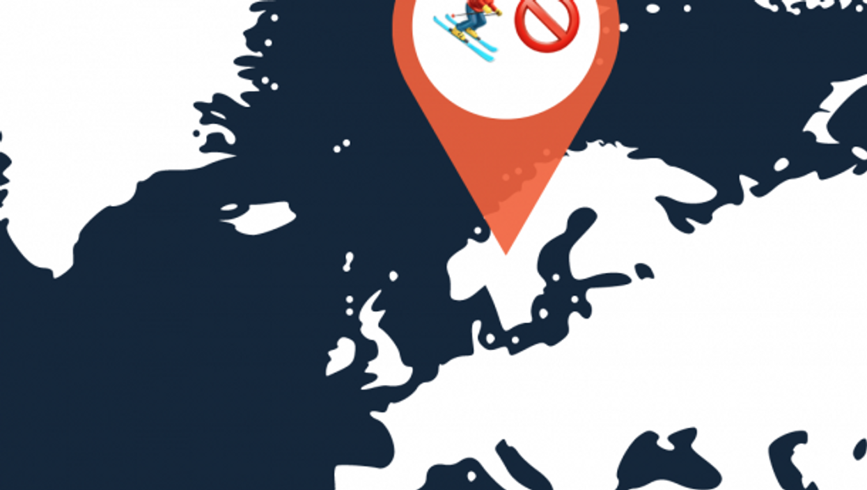 Skiing Across Sweden-Norway Border To Slip Past COVID Lockdown