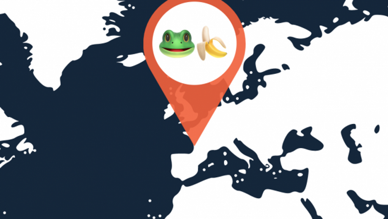 Rare Caribbean Frog Hops On Banana, Flies To France — Only Banana Is Eaten
