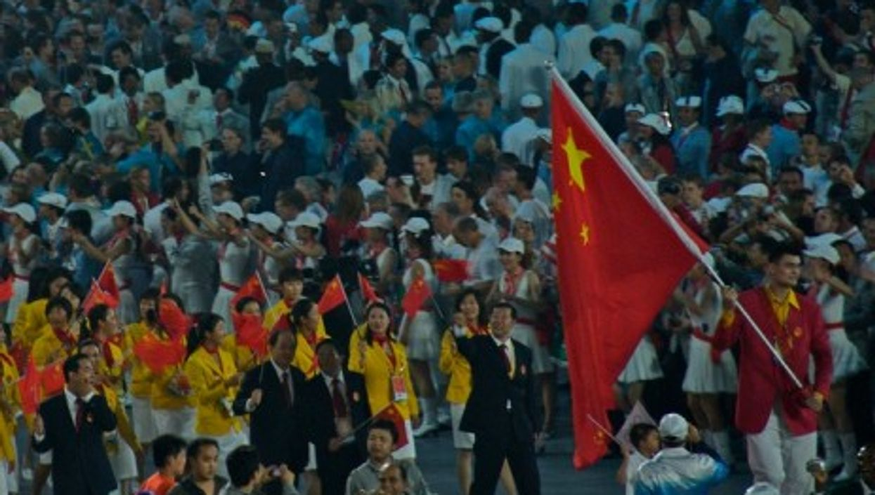 In 2008, the Chinese team played host (MrENil)