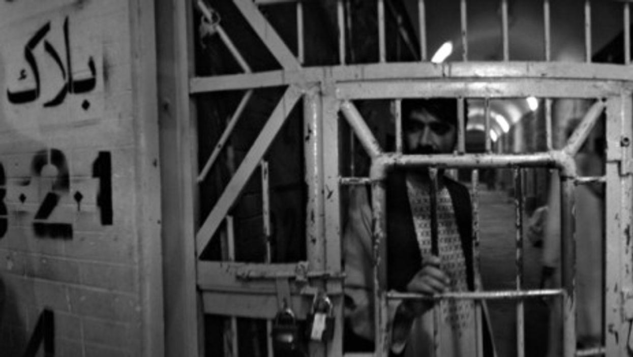 In a Kandahar prison
