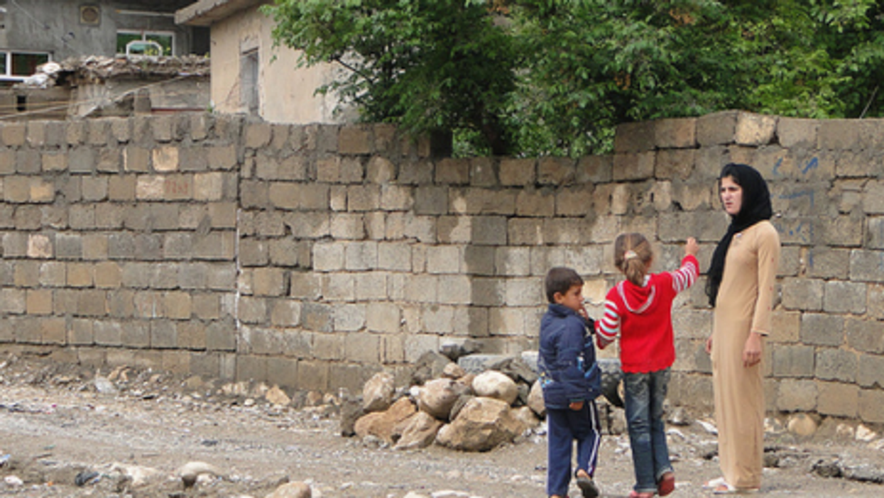 In a village near Suleimaniya in Iraqi Kurdistan