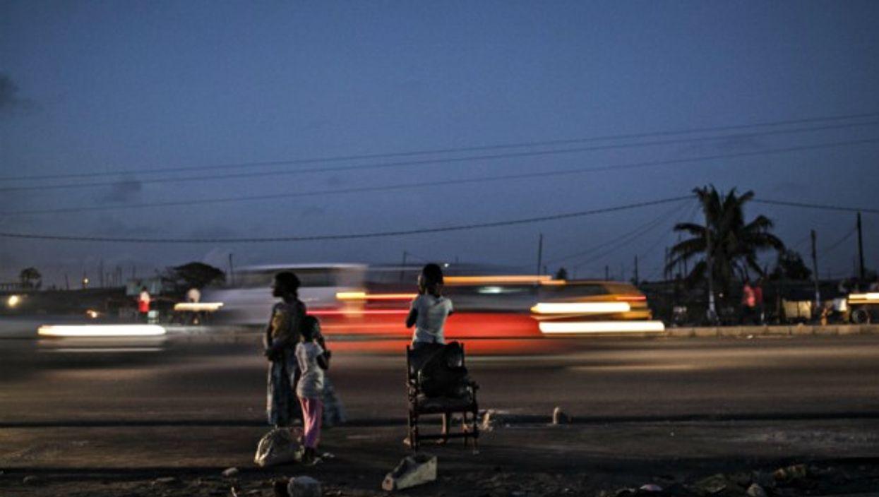 In Abidjan, Ivory Coast