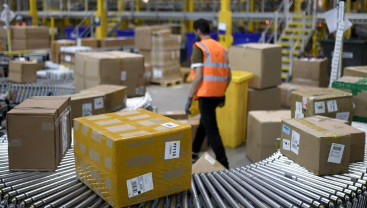 In Amazon's logistics center in Dortmund