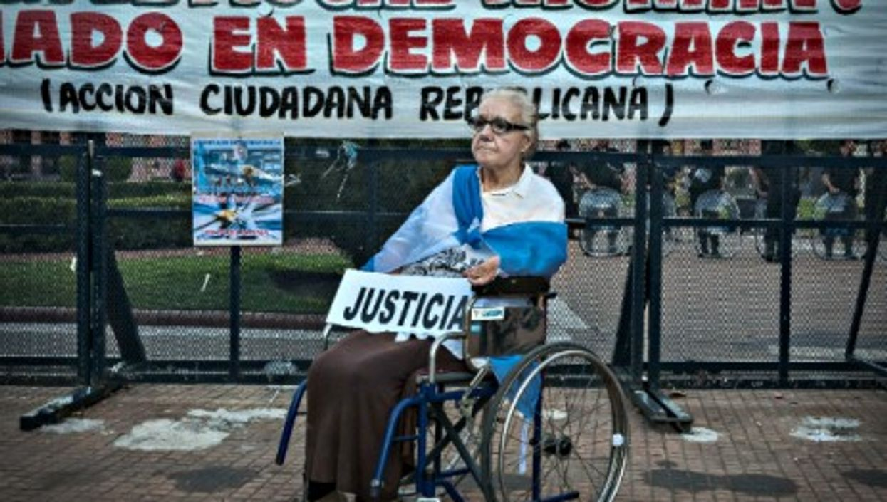 In Buenos Aires after the death of prosecutor Alberto Nisman