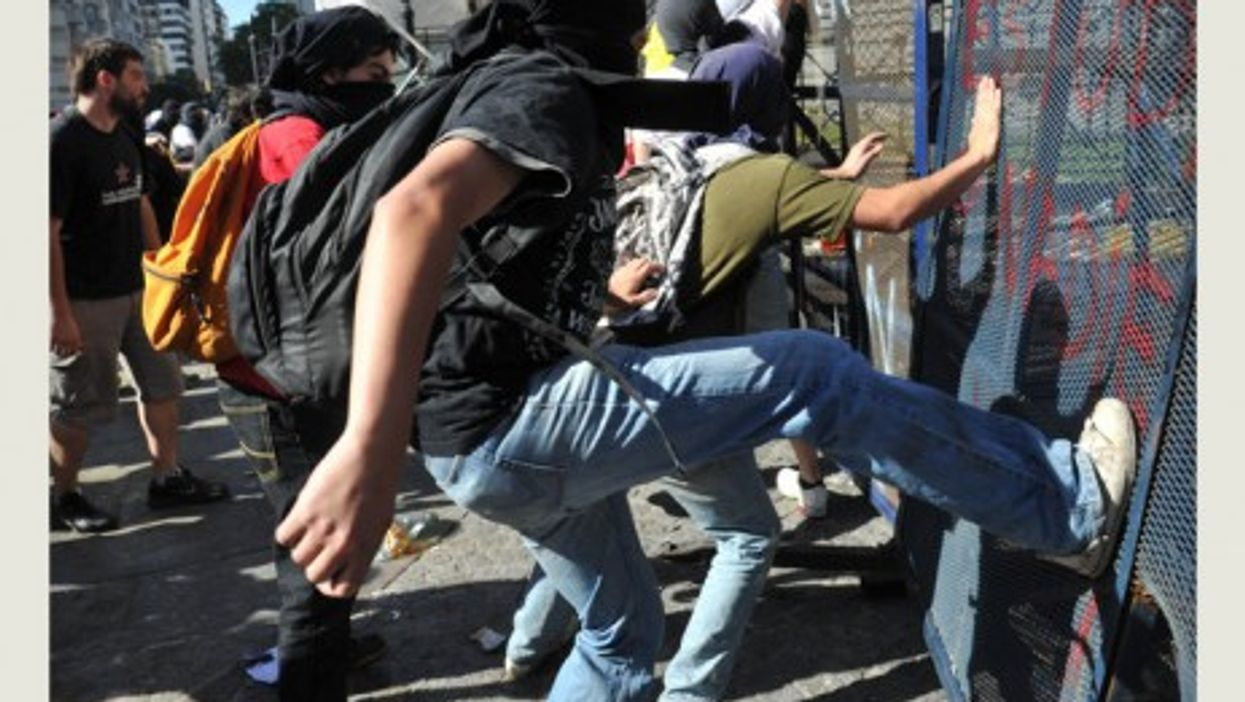 In Buenos Aires, university students are part of the groundswell of unrest