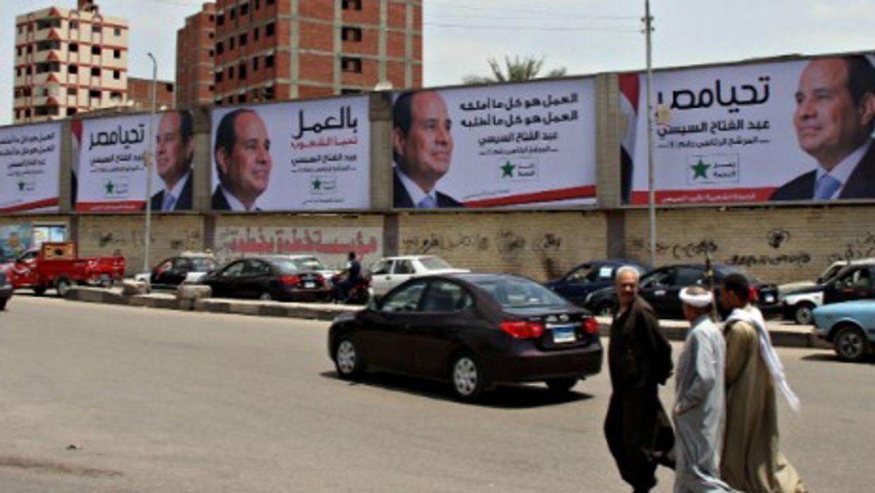 In Cairo — Photo: Mohammed Bendari/APA Images/ZUMA