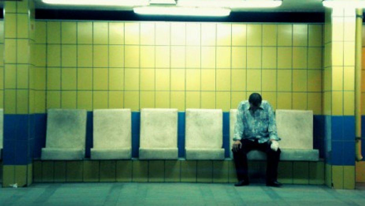 In Cairo's metro