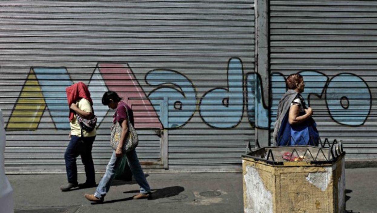 In Caracas on Jan. 10