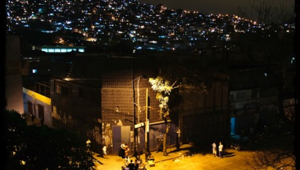In Caracas, where electricity is not always guaranteed...