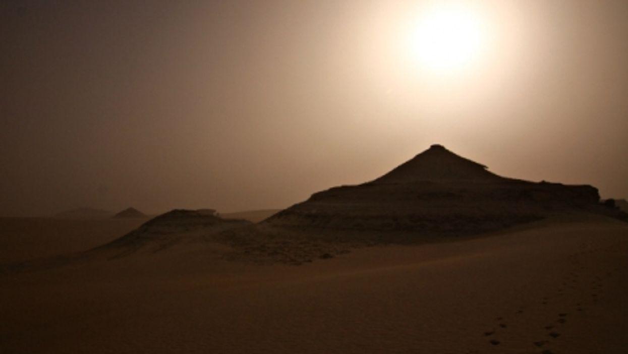 In Egypt's Western Desert