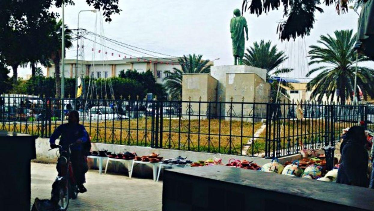 In El Hamma, Tunisia
