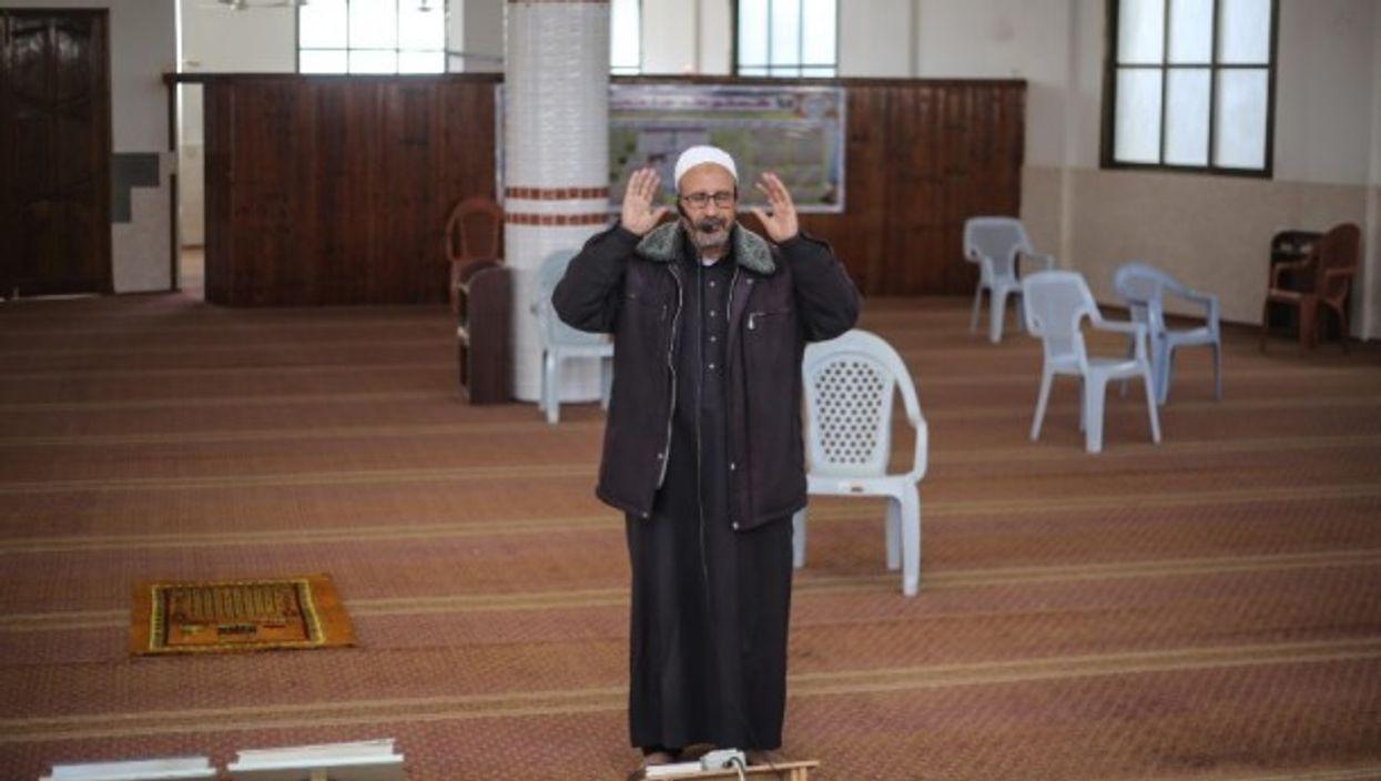 In Gaza, an imam's virtually broadcast call to prayer