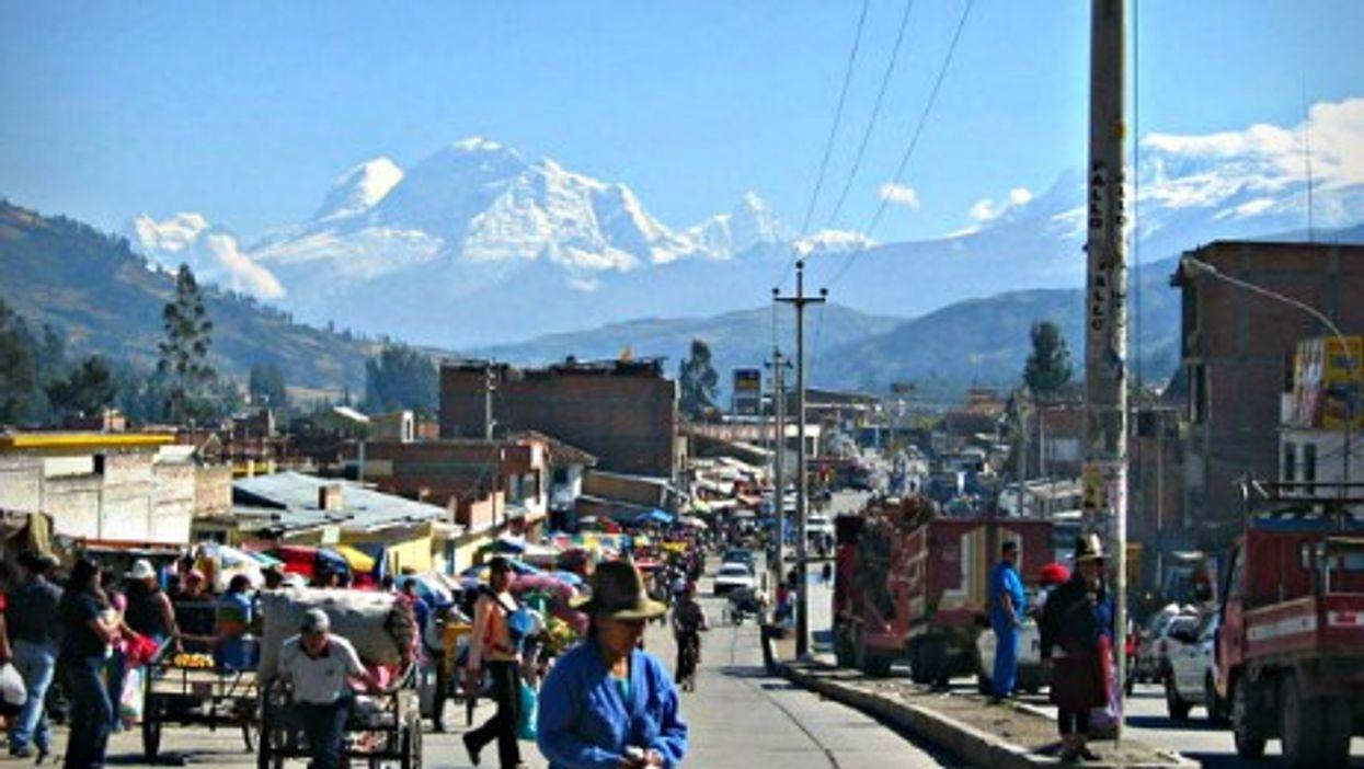 In Huaraz, Peru
