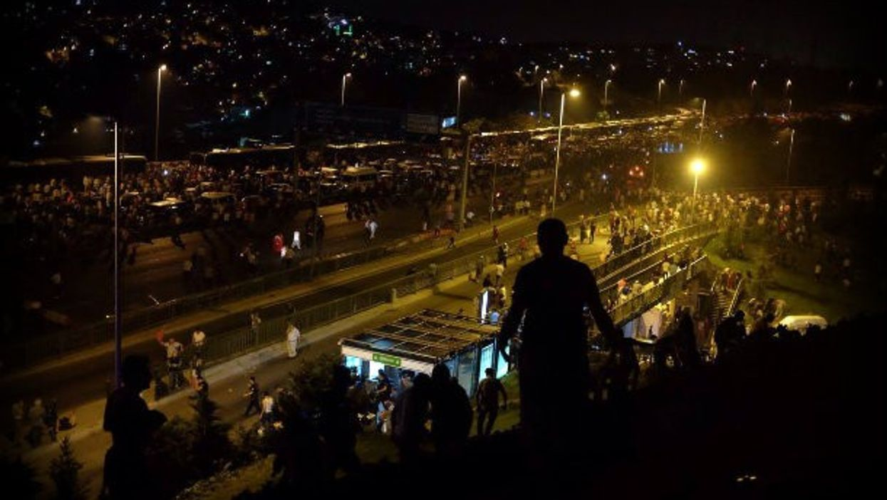 In Istanbul the night of the attempted coup