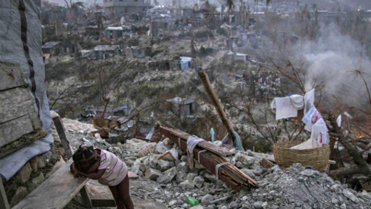 In Jérémie, Haiti, on Oct. 10