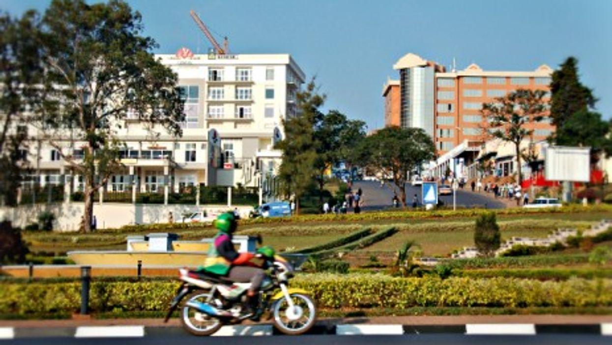 In Kigali, Rwanda