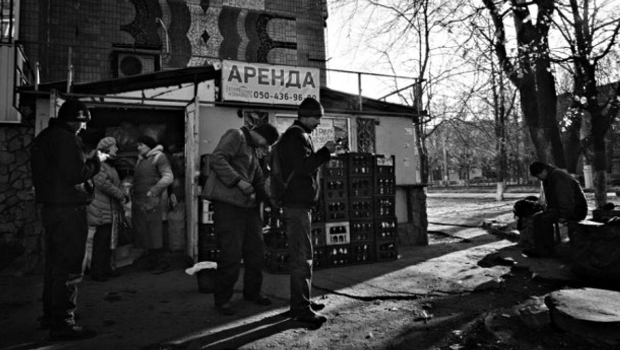 In Kramatorsk, Ukraine
