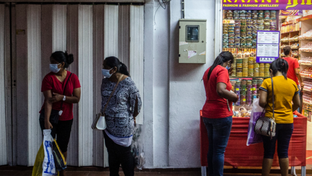 In Kuala Lumpur's 'Little India' district
