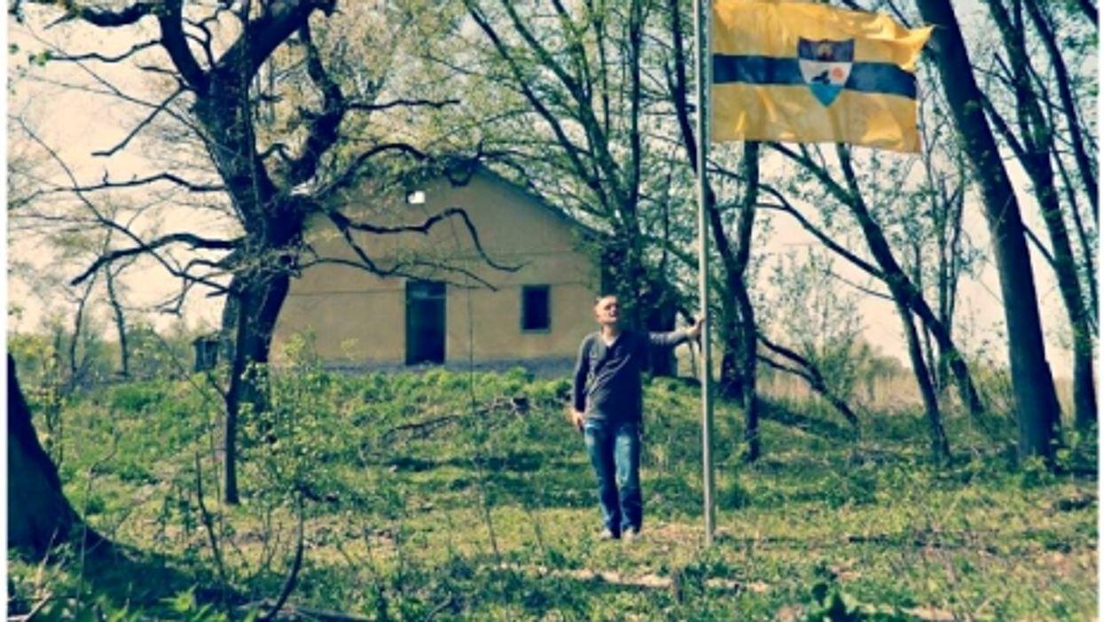 In Liberland's capital Liberpolis