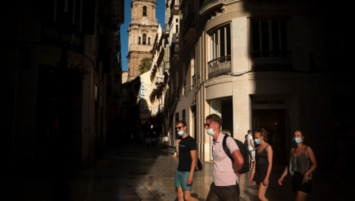 In Malaga, Spain, on July 15