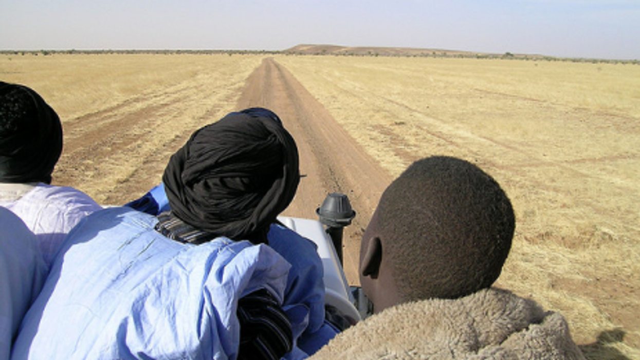 In Mauritania, the road is long and dry...and dangerous. (c.hug)