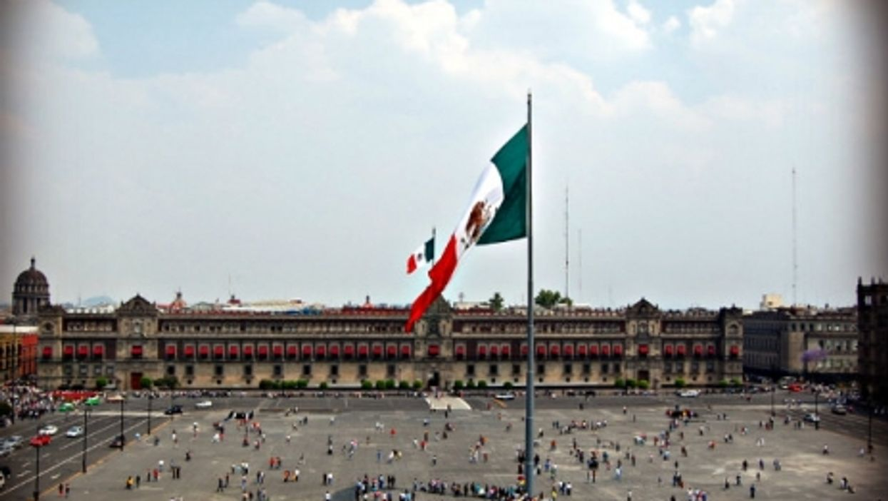 In Mexico City, the state and the people.