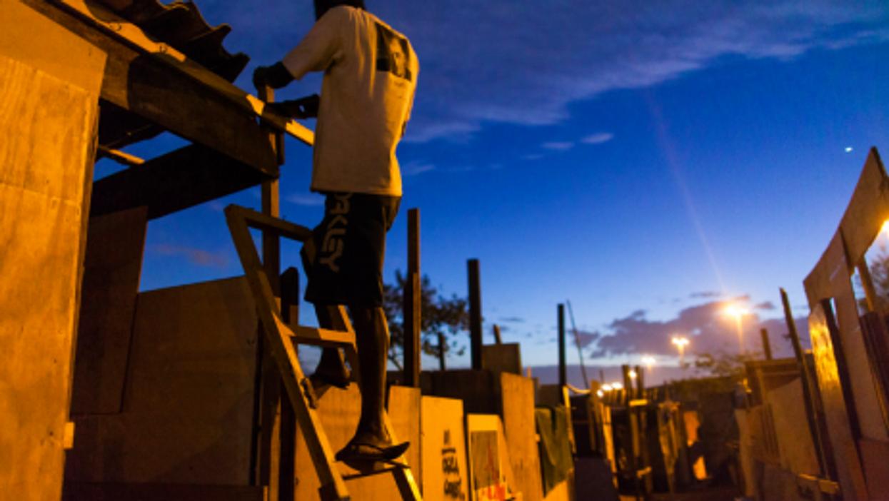 In Parque do Gato, favela life for Brazil's huge underclass