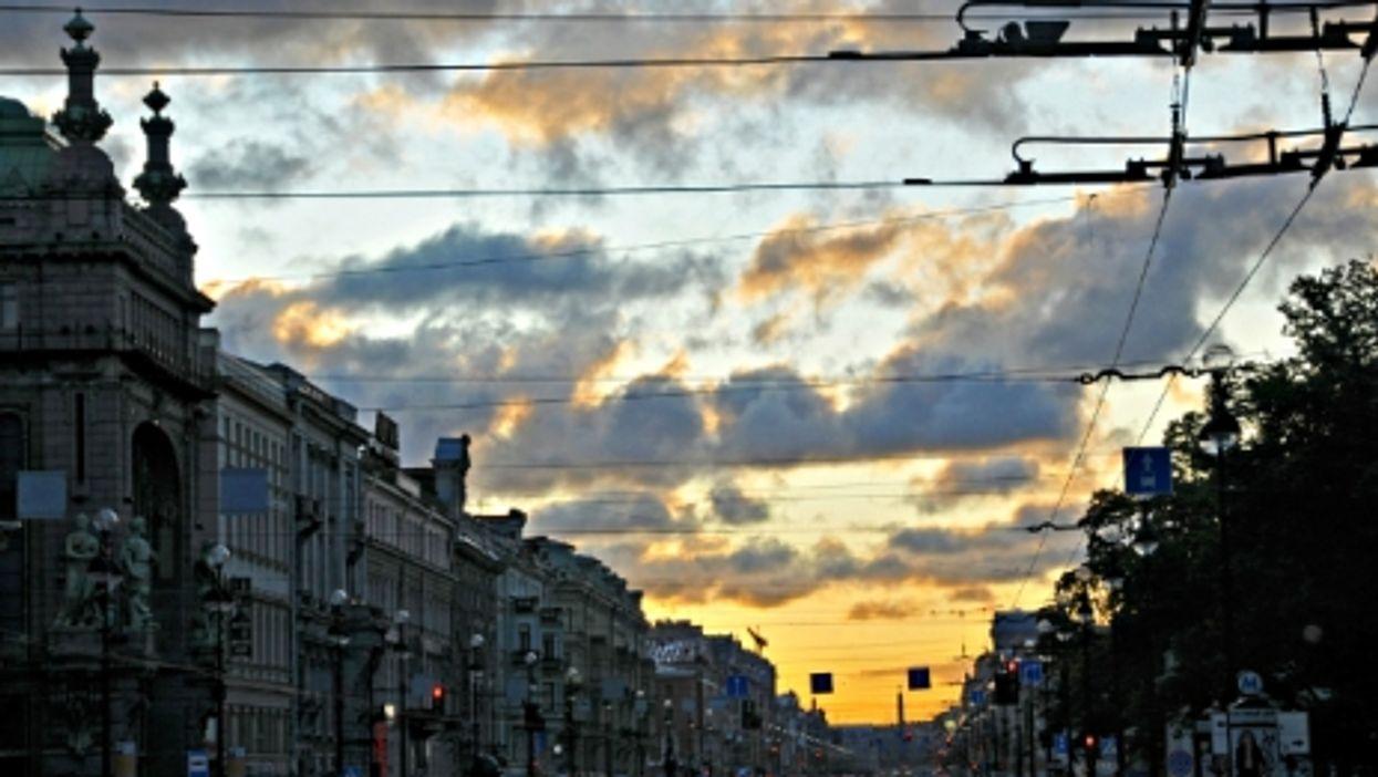 In Saint Petersburg, Russia