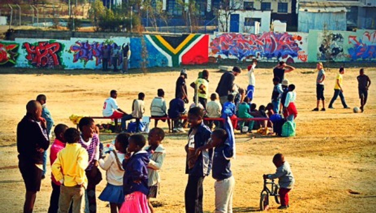 In Soweto, South Africa