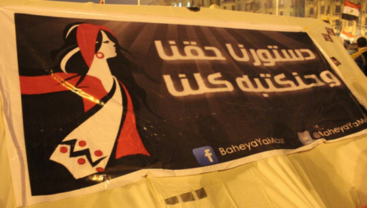 In Tahrir Square in November