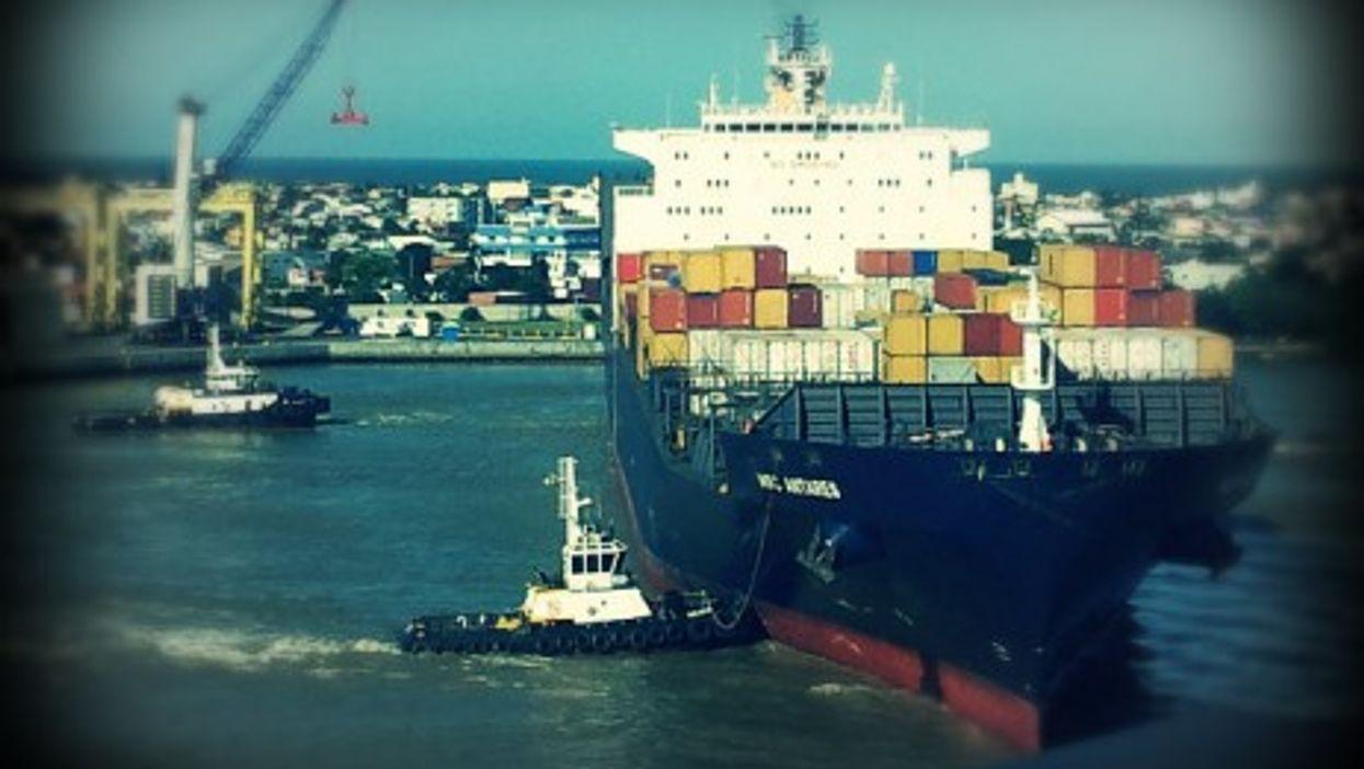 In the Brazilian port of Itajaí