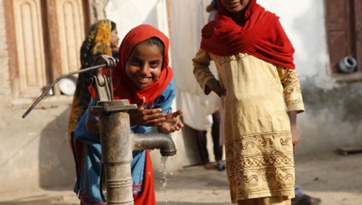 In the village of Sindh, Pakistan, obtaining clean local water is a precious achievement.