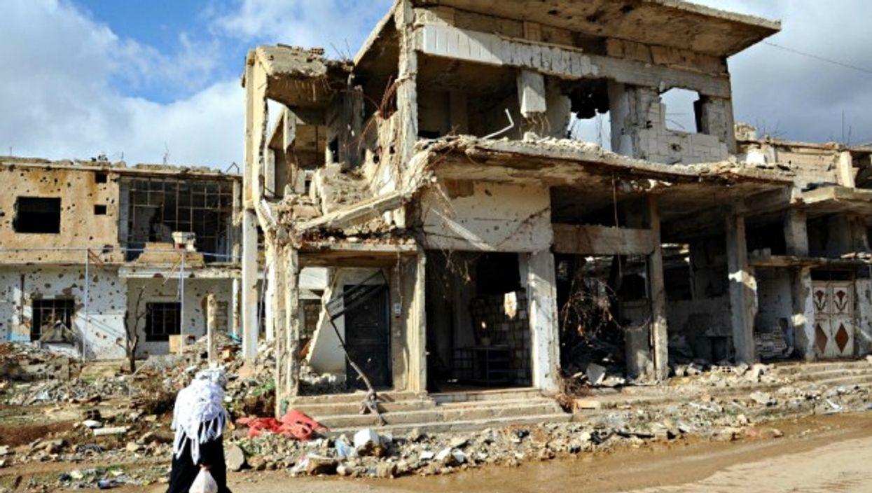 In war-torn Zabadani, near Damascus, on Jan. 6