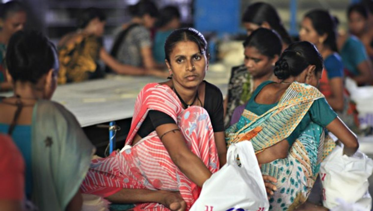 India has one of the lowest female workforces in the world.