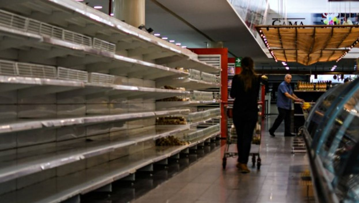 Inflation has resulted in food shortages in Venezuela.