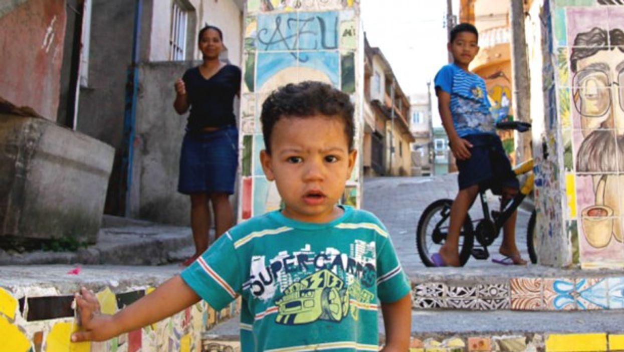 Inside a Sao Paulo favela