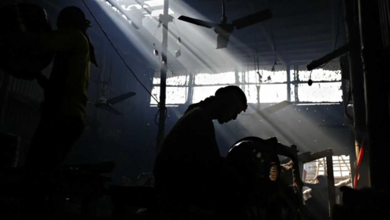 Inside a silver factory in Dhaka, Bangladesh