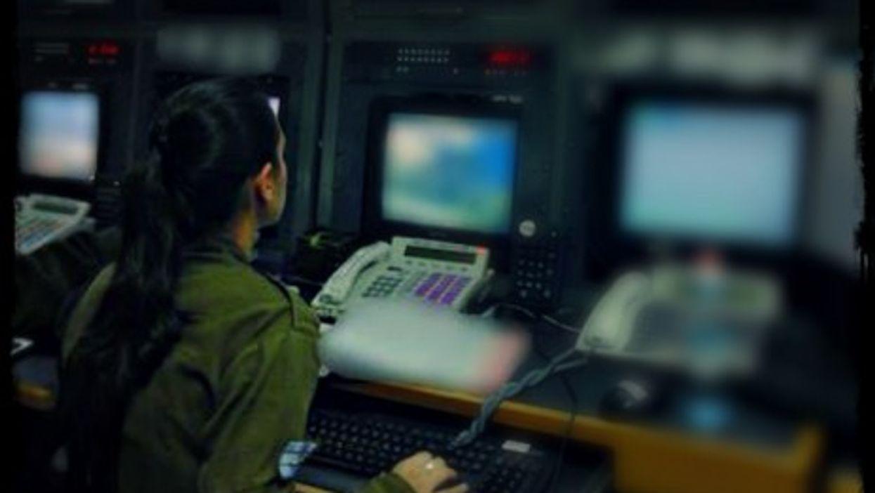 Inside an IDF control room