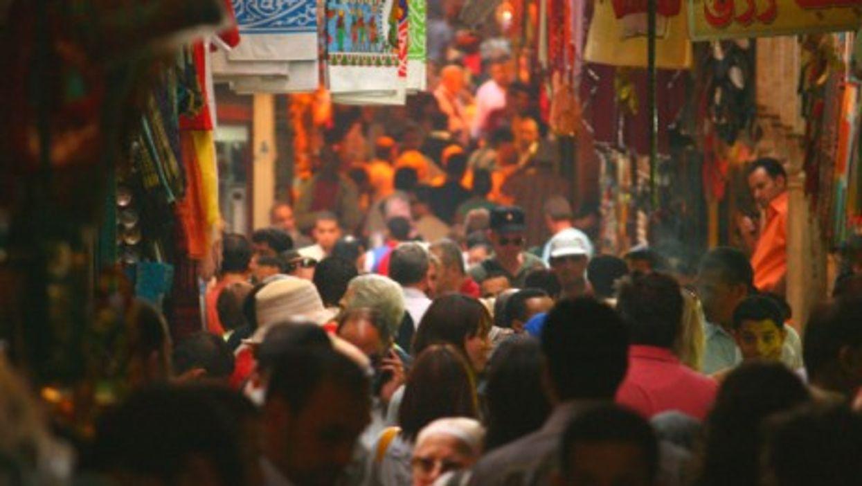 Inside Cairo's bustling Khan el-Khalili souk