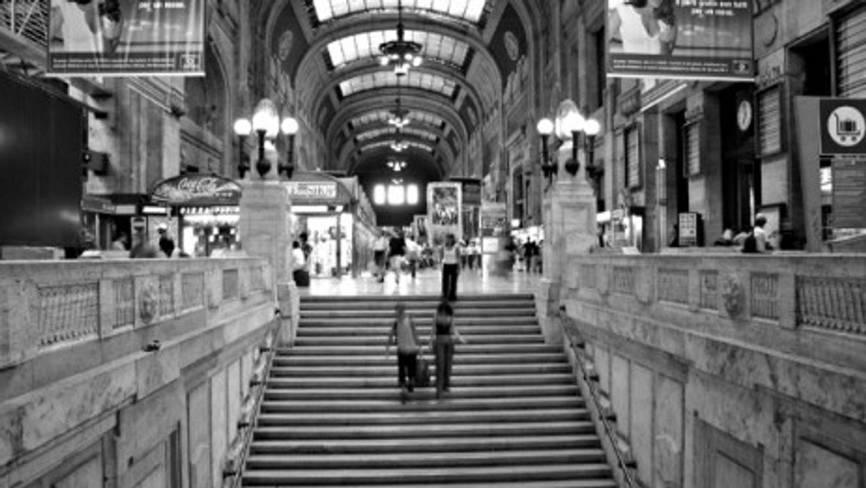 Inside Milan's Central Station