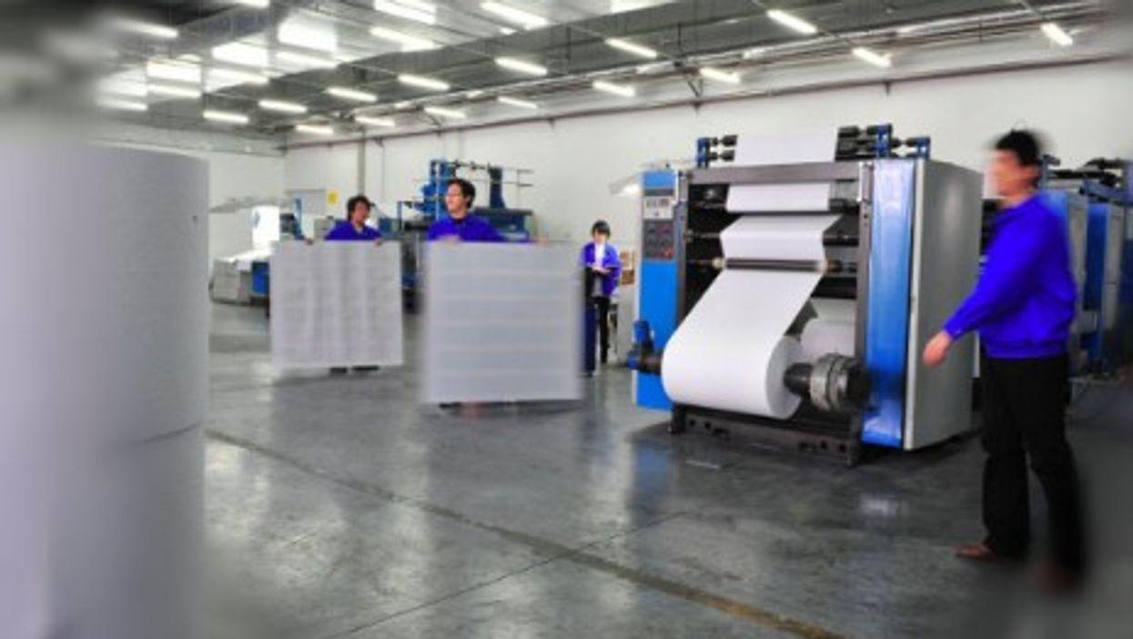 Inside Nanjing's Amity Printing Bible factory