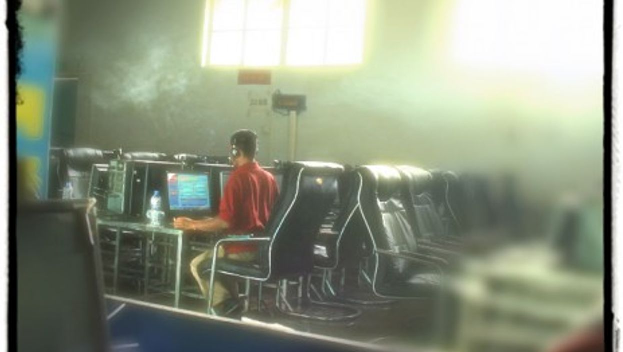 Internet Café in China