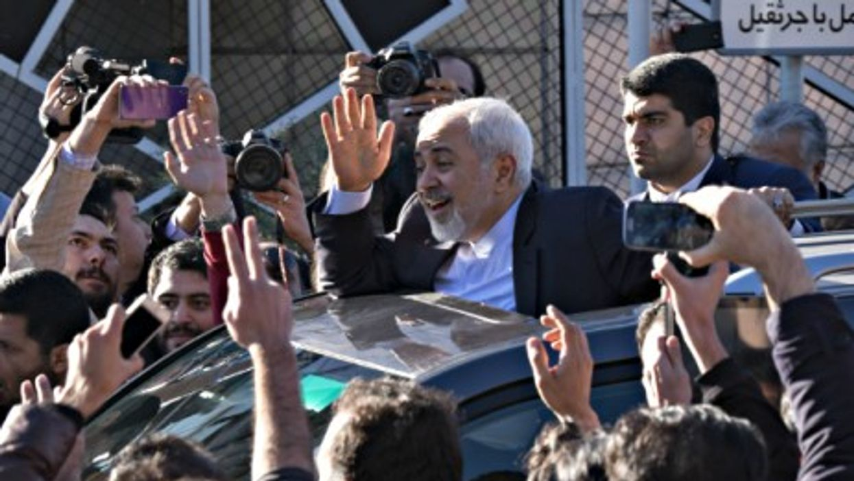 Iran's Foreign Minister Mohammad Javad Zarif on April 3
