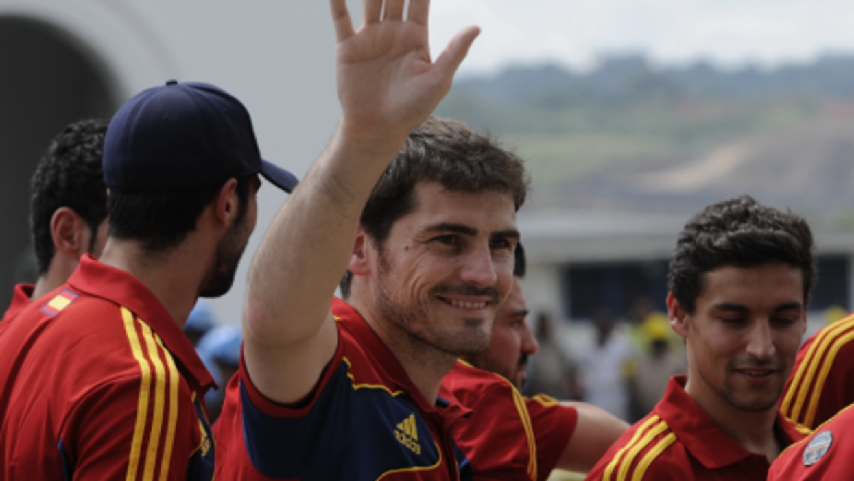 Is Spain's Iker Casillas giving odds of a repeat? 5-to-1?